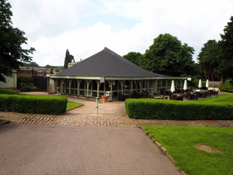 Duchess' Tea Room at Woburn Abbey and Gardens