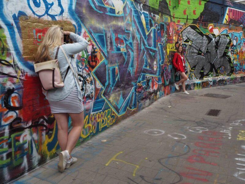Ghent's Grafitti Street