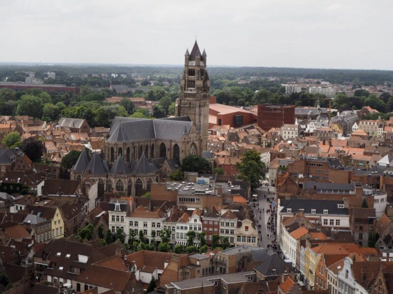 View over Bruges from the Belfry