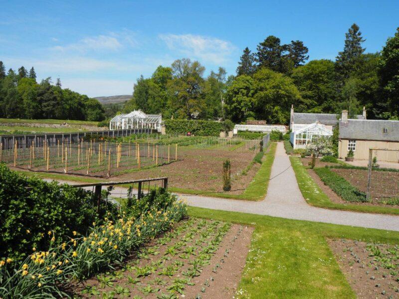 Touring the gardens at Balmoral Castle