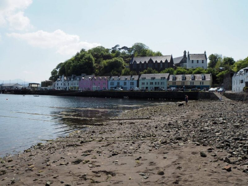 Visiting Portree during a road trip to the Isle of Skye