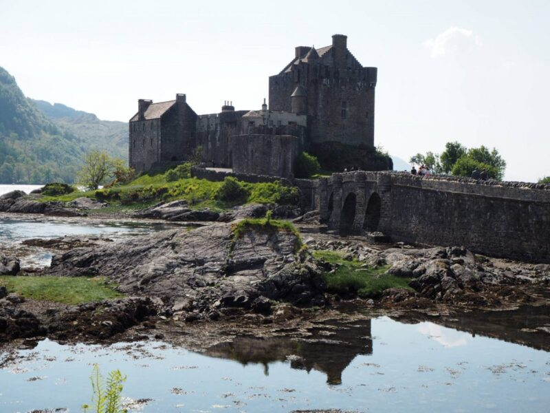 View of Eilean Donan Castle - Road trip from Inverness to Isle of Skye