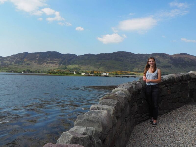 Visiting Eilean Donan Castle during an Isle of Skye road trip